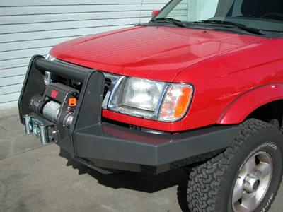 1999 nissan frontier bumper