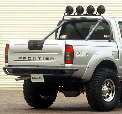 Calmini nissan frontier bed mounted light bar aloadofball Choice Image